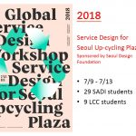 10th global design workshop at SADI (Samsung Art and Design Institute) in Seoul, South Korea
