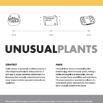 Carlos Canali's Major Project - UNUSUALPLANTS